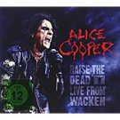 alice cooper - raise the dead live from wacken 2CDs + DVD 2014 UDR germany alive used mint