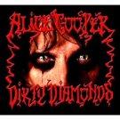 alice cooper - dirty diamonds CD 2005 new west 13 tracks used mint