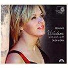 brahms - variations op.21 op.24 op.35 - olga kern CD 2007 harmonia mundi used mint