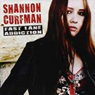 shannon turfman - fast lane addiction CD 2007 purdy records cc entertainment 11 tracks used mint