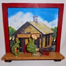 grateful dead terrapin station 3D sculptural plate - stanley mouse 1999 hamilton collection