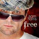 sam harris - free CD 2008 funky pants 12 tracks used mint