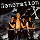 generation x - original debut album CD 1978 chrysalis 1996 EMI made in UK new