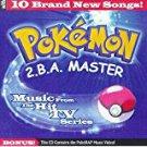 pokemon 2.B.A. master - music from hit TV series CD 1999 koch 13 tracks used mint