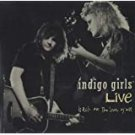 indigo girls - live back on the bus y'all CD 1991 sony epic 8 tracks used mint