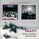heart - private audition + passionworks CD 2-discs 2009 BGO 22 tracks used mint