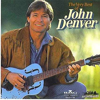 john denver - very best of john denver CD 1994 rca 30 tracks used mint