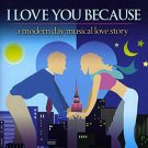 i love you because - 2006 original off-broadway cast CD PS classics 18 tracks used mint