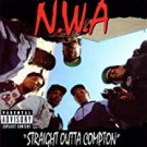 N.W.A - straight outta compton CD 1988 2002 priority 17 tracks used mint
