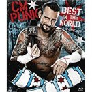 WWE CM punk best in the world Bluray 2-discs 2012 used mint
