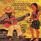 putumayo presents - acoustic brazil - various artists CD 2005 12 tracks used mint