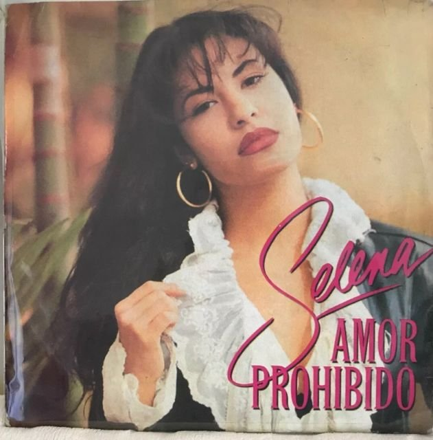 selena - amor prohibido CD 1994 EMI Latin 10 tracks used mint
