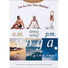 all-day yoga workout - a.m. stress relief p.m. yoga for beginners DVD used mint