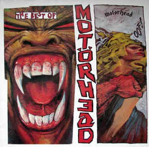 motorhead - best of motorhead CD 1984 bronze records BMG 14 tracks used mint