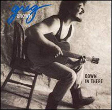 greg brown - down in there CD 1990 red house 10 tracks used mint
