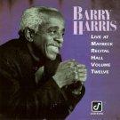 barry harris - live at maybeck recital hall volume twelve CD 1991 concord 10 tracks used mint