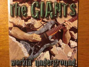 the giants - workin underground CD 2001 black market music 13 tracks used mint