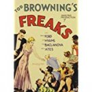 tod browning's freaks DVD 2004 warner 62 minutes used mint