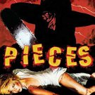 pieces by christopher george - deluxe edition DVD 2-discs 2008 grindhouse UR color 85 mins used mint