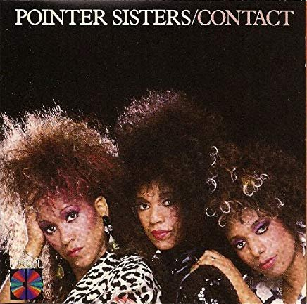 pointer sisters - contact CD 1985 RCA 9 tracks used mint