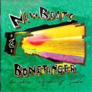 new boots & bonefinger - brighter shade of jade CD 1995 45 rpm 11 tracks used mint