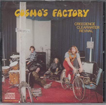 creedence clearwater revival - cosmo's factory CD 1983 fantasy BMG Direct 11 tracks used mint