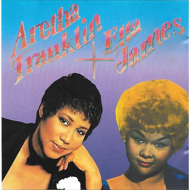 aretha franklin + etta james CD fortune germany 18 tracks used