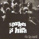 de la soul - stakes is high CD 1996 tommy boy 17 tracks used mint