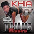 khia - thug misses CD 2002 dirty down artemis 16 tracks used mint