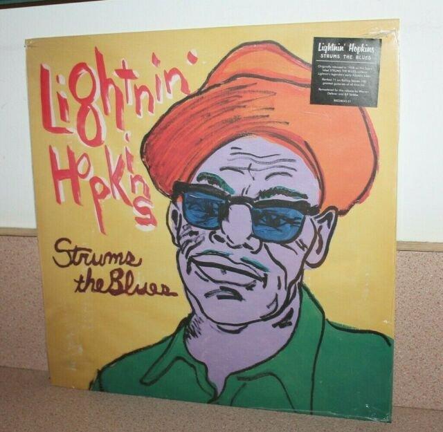 lightnin' hopkins strums the blues LP 2019 RSD vinyl capitol third man new
