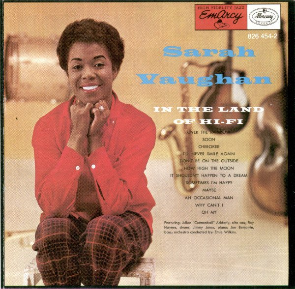 sarah vaughan - in the land of hi-fi CD 1956 polygram BMG Direct 12 tracks used mint