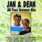 jan & dean - all-time greatest hits CD 1990 curb 11 tracks used mint