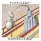 black sabbath - technical ecstasy CD 1976 warner 8 tracks used mint