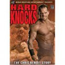 WWE hard knocks - chris benoit story DVD 2-discs 2004 PS2 compatible used mint
