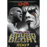 TNA bound for glory 2007 DVD TNA wrestling used near mint