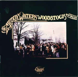 muddy waters - woodstock album CD 1995 chess mca BMG Direct 9 tracks used mint