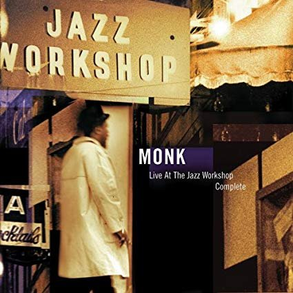 thelonious monk - live at the jazz workshop complete CD 2-discs 2001 sony 26 tracks used mint
