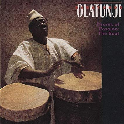 babatunde olatunji - drums of passion the beat CD 1989 rykodisc 6 tracks used mint
