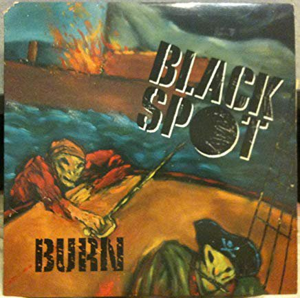 black spot - burn CD 1988 horse latitudes 11 tracks used mint