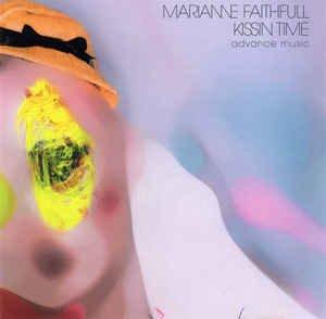 marianne faithful - kissin time CD 2002 virgin 10 tracks used mint