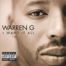 warren g - i want it all CD 1999 restless BMG Direct 16 tracks used mint