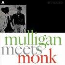 mulligan meets monk 20 bit CD 2003 riverside fantasy 10 tracks used mint