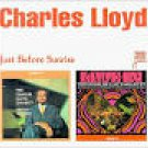 charles lloyd - just before sunrise CD 2-discs .32 jazz 12 tracks used mint
