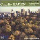 charlie haden - montreal tapes CD 2003 verve SAS france 4 tracks used mint