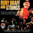 ruby braff and strings - in the wee small hours in london and new york CD 1999 arbors used mint