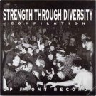 strength through diversity compilation - various artists CD up front 20 tracks used mint