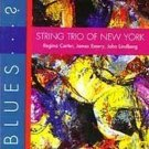 string trio of new york - blues ... ? CD 1995 black saint 9 tracks used mint