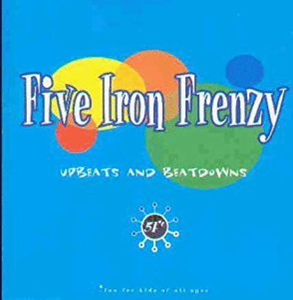 five iron frenzy - upbeats and beatdowns CD 1996 sarabellum 15 tracks used mint
