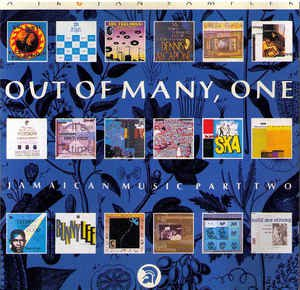 out of many, one - jamaican music part two CD 1990 trojan 18 tracks used mint