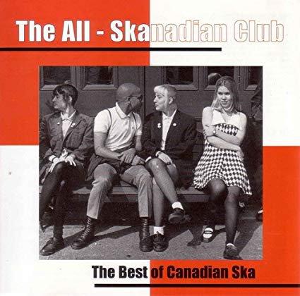 all skanadian club - best of canadian ska CD 1995 stomp 16 tracks used mint